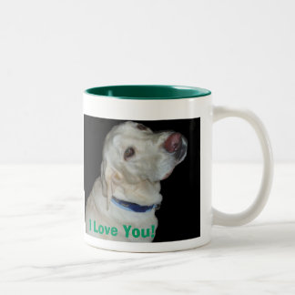 Yellow Lab Love Mug