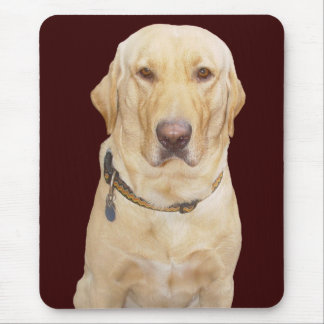 Yellow Lab Lover Mouse Pad