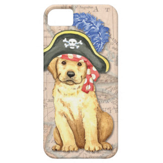 Yellow Lab Pirate iPhone SE/5/5s Case