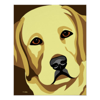 Yellow Lab Posters
