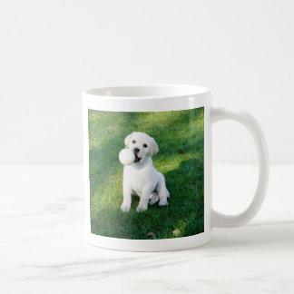 Yellow Lab Puppy Coffee Mug