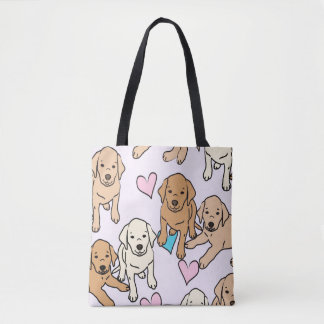Yellow Lab tote