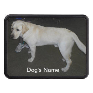Yellow Lab Truck Hitch Cover