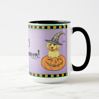 Yellow Lab Witch Mug