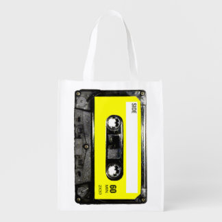 Yellow Label Cassette Grocery Bag