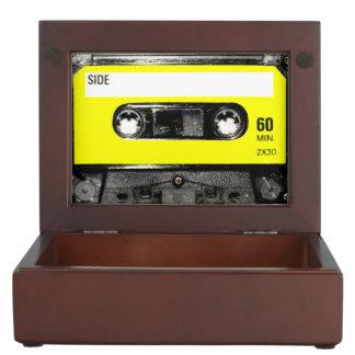 Yellow Label Cassette Memory Box