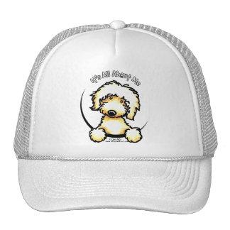 Yellow Labradoodle IAAM Trucker Hat