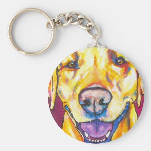 Yellow Labrador 1 Key Chain