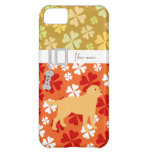 Yellow Labrador 2 with a Little Tongue Cover For iPhone 5C