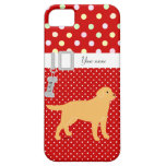 Yellow Labrador 2 with a Little Tongue iPhone 5 Case