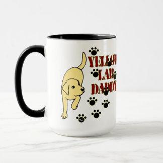 Yellow Labrador Daddy Mug