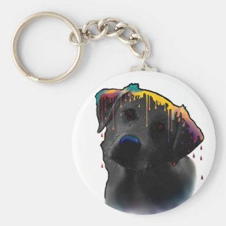 Yellow Labrador Dog Keychain