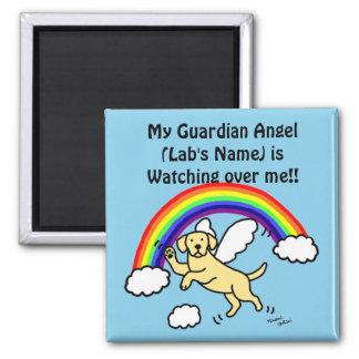 Yellow Labrador Guardian Angel (Rainbow Bridge) Magnet