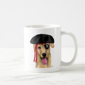 Yellow Labrador Pirate 2 Coffee Mug