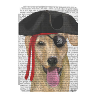 Yellow Labrador Pirate 2 iPad Mini Cover