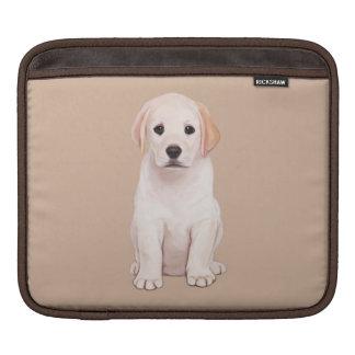 Yellow Labrador Puppy iPad Sleeve