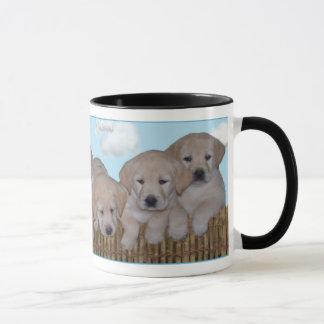 Yellow Labrador Puppy Mug