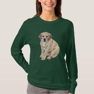 Yellow Labrador Puppy T-Shirt