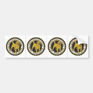 Yellow Labrador Retriever Bumper Sticker