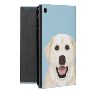 yellow labrador retriever cartoon iPad mini case