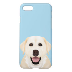 iPhone 7 Case with Labrador Retriever Phone Cases design