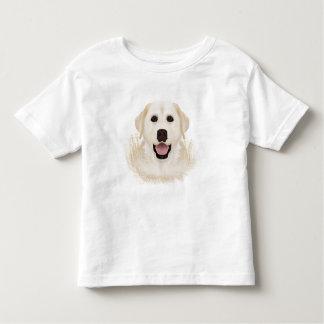 yellow labrador retriever cartoon toddler t-shirt