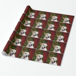 Yellow labrador retriever Christmas Wrapping Paper