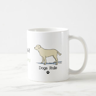 Yellow Labrador Retriever Coffee Mug