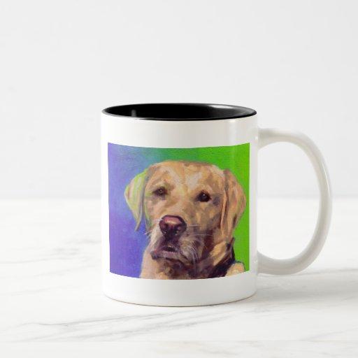 Yellow Labrador Retriever Coffee Mugs