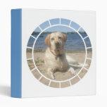 Yellow Labrador Retriever Dog Binder
