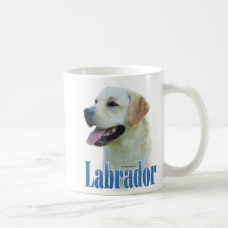 Yellow Labrador Retriever Name Coffee Mugs