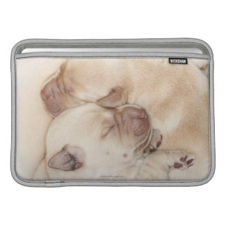 Yellow Labrador Retriever puppies, 10 days old MacBook Air Sleeve