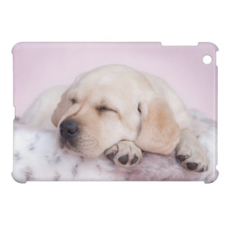 Yellow labrador retriever puppy iPad mini cases