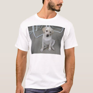 Yellow Labrador Retriever Puppy T-Shirt