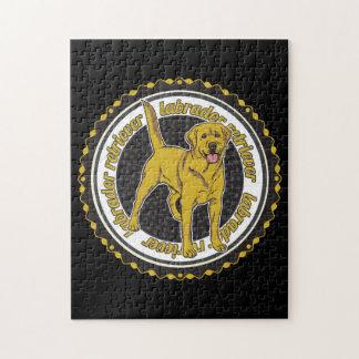 Yellow Labrador Retriever Jigsaw Puzzles