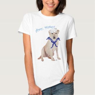 Yellow Labrador Retriever Sailor T Shirt