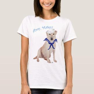 Yellow Labrador Retriever Sailor T-Shirt
