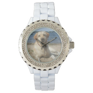 Yellow Labrador Retriever Wrist Watch