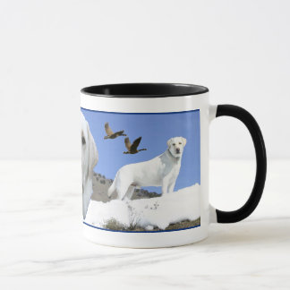 Yellow Labrador tribute Mug