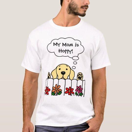 Yellow Labrador watching you T-Shirt