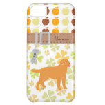 Yellow Labrador with a Little Tongue iPhone 5C Cases