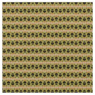 yellow lace patten fabric