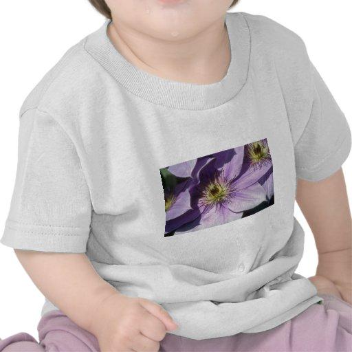 Yellow Lavender shadows flowers Shirts