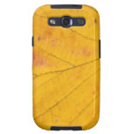 Yellow Leaf Macro Galaxy S3 Case