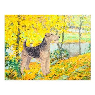 Yellow Leaves Postcard