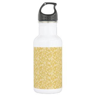 Yellow Leaves Water Bottle