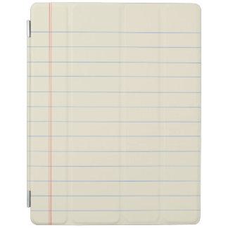 Yellow Legal Pad Design iPad Cover