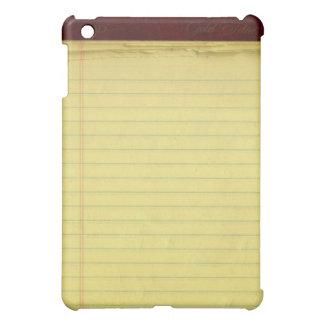 Yellow Legal Pad iPad Case
