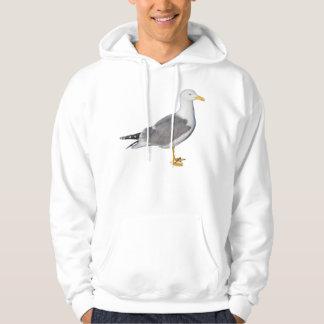 Yellow Legged Gull Hooded Sweatshirt