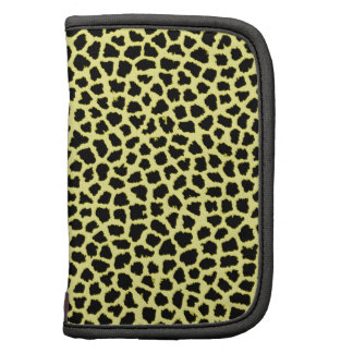 Yellow Leopard print Planner